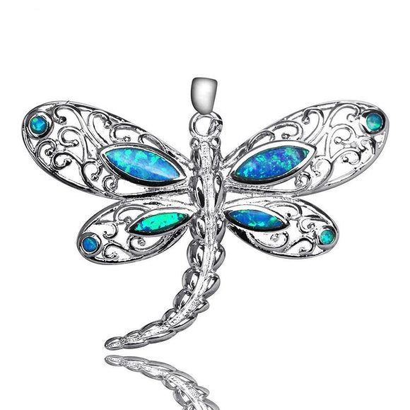Dragonfly Shaped Pendant