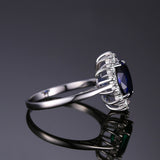 Princess Diana/Kate Middleton Inspired Sapphire Ring