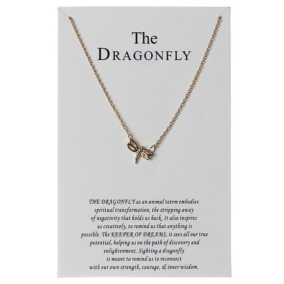 Dragonfly Charms Necklace