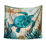 Sea Turtle Wall Tapestry