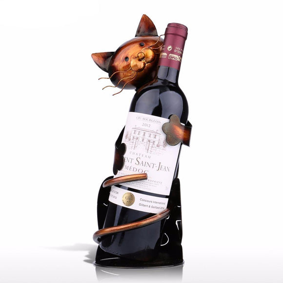 Decorative Cat Wine Holder