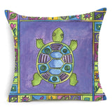 Sea Turtle Throw Pillow Cover