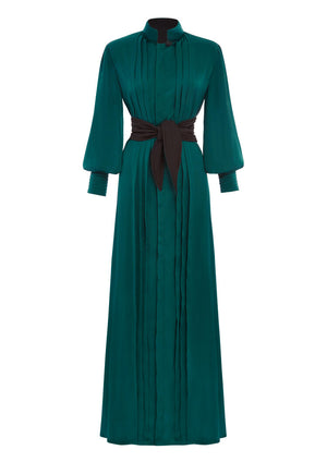 By VienSo - Campari Dress Verde Bottiglia