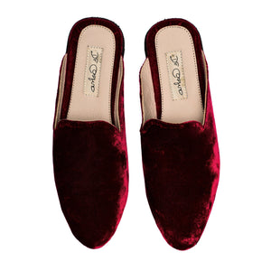 De Castro - Marron Slippers