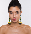 Ranjana Khan - Green Lily Earring