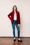 Yali - Cardinal Red Blazer Woman-Fit