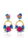 Ranjana Khan - Multicolor Eden Earrings