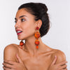 Ranjana Khan - Oak Earrings