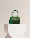 RAC -Green Monreau Fur & Leather Bag