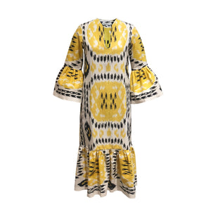 De Castro - Viento Dress Yellow Rainbow