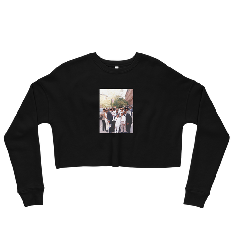 Young Teemonee Crop Sweatshirt