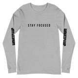 """Stay Focused"" Long Sleeve Shirt"