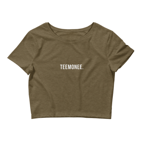 Teemonee. Crop Top Tee