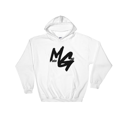 Monee Gang Team Pullover Hoodie (Black Logo)