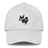Monee Gang Dad Hat (White)