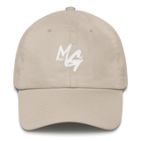 Monee Gang Dad Hat (White Logo)