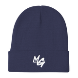 Monee Gang Beanie (White Logo)