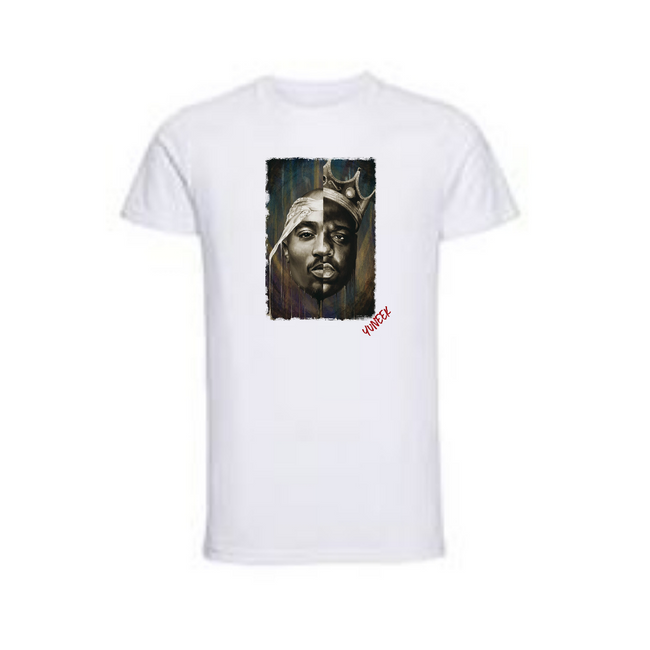 50/50 Tupac/Biggie T-Shirt