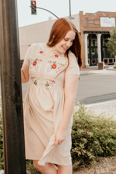 Bailee Embroidered Dress