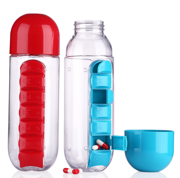 Pill Water Bottle Organizer
