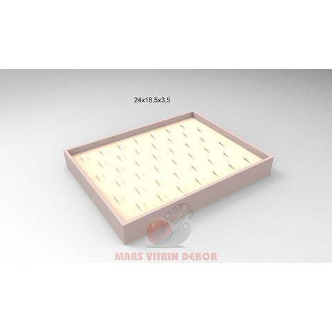 Tray for rings-6-24*18,5*3,5