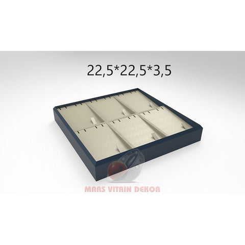 Tray for triple sets-4-22,5*22,5*3,5