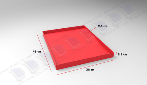 Tray for chain-2-38*48*3,5