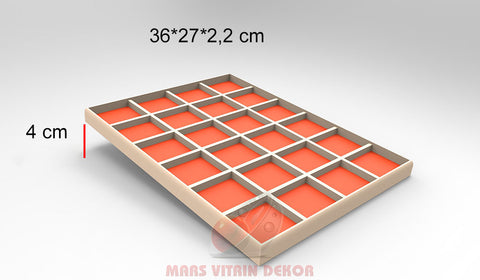 Tray for necklace-18-36*27*2,2