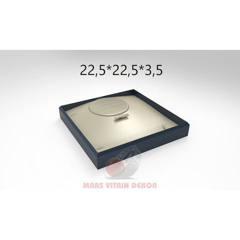 Tray for set-3-22,5*22,5*3,5