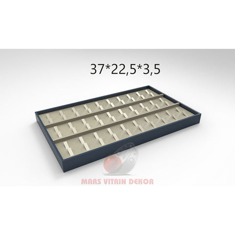 Tray for rings-8-37*22,5*3,5