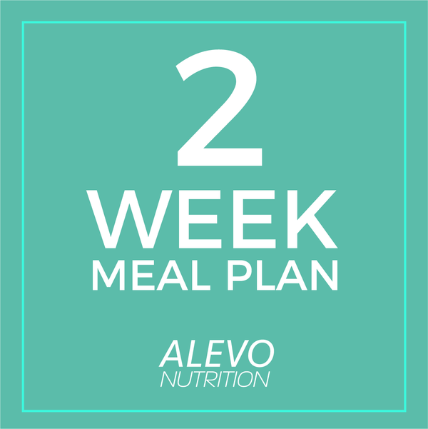 2 Week Meal Plan - Alevo Nutrition