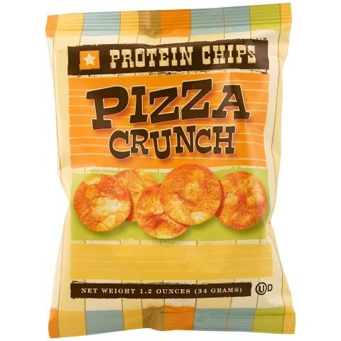 Pizza Crunch Protein Chips (6 Bags) - Alevo Nutrition