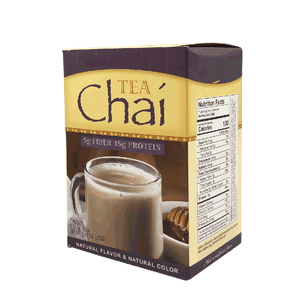 Chai Tea with Fiber- High Protein Decaffeinated - 7/Box - Alevo Nutrition