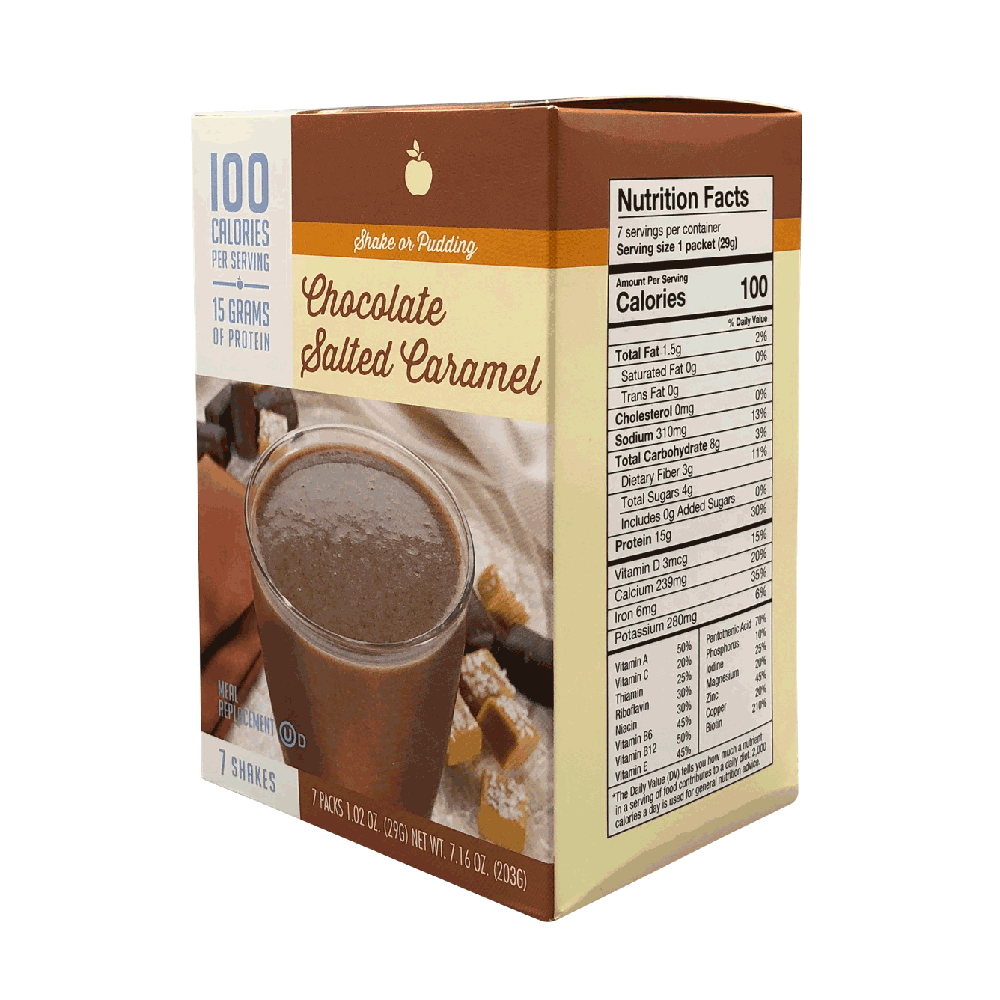 Meal Replacement Chocolate Salted Caramel Shake