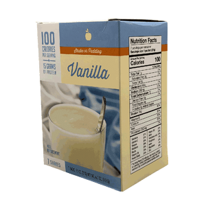 Vanilla Protein Shake - 100 Calories Meal Replacement - Alevo Nutrition