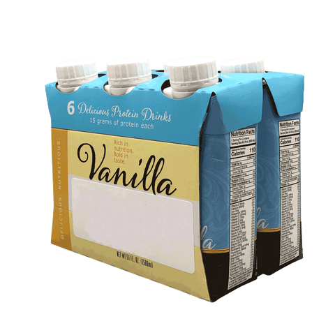 Protein Shake Ready To Drink - Vanilla (6/Box)