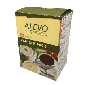 Protein Diet Soup Variety Pack (7/Box) - Alevo Nutrition