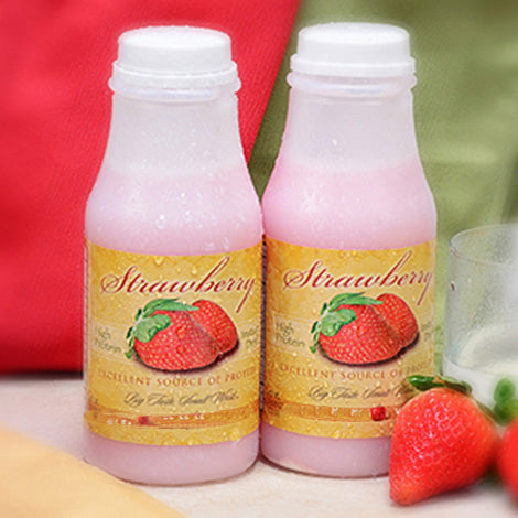 Strawberry Protein Shake (Shaker) - 6/ Bottles