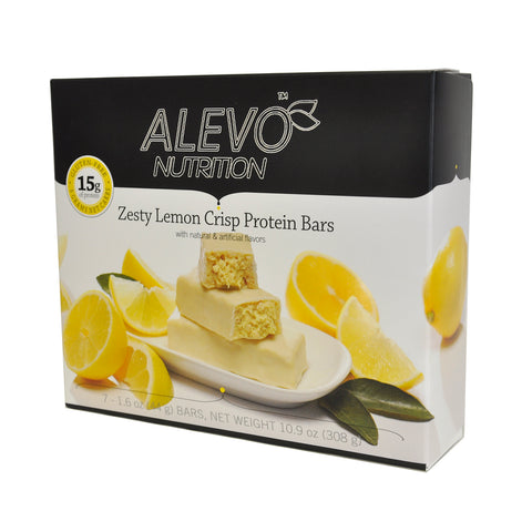 VLC Zesty Lemon Crisp Bar / Box