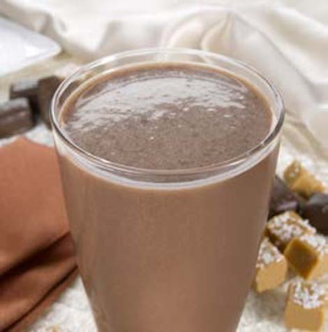 Chocolate Salted Caramel Shake- 100 Calorie Meal Replacement - Alevo Nutrition