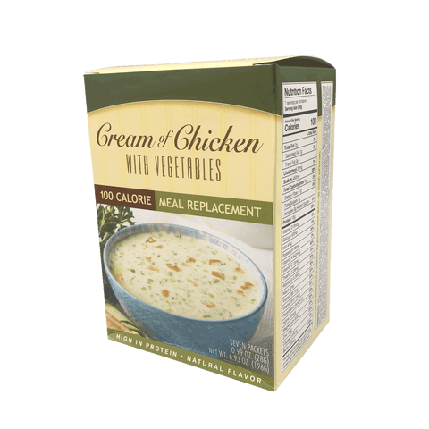 Cream of Chicken With Vegetables Soup - 100 Calories