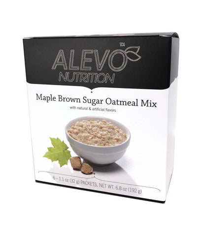 Alevo Nutrition Proti Oatmeal - Maple & Brown Sugar