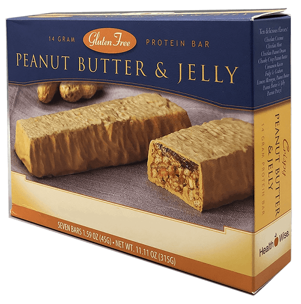 Peanut Butter & Jelly Protein Bar - Alevo Nutrition -