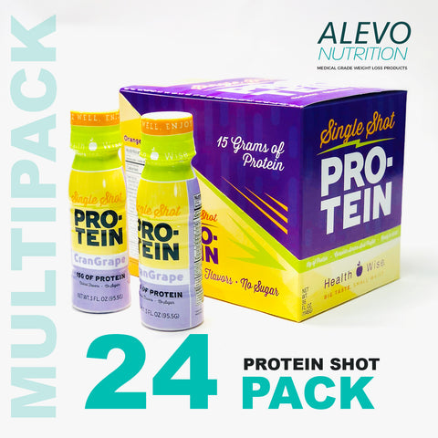 High Protein Single Shot - MULTIPACK - 24 Bottles