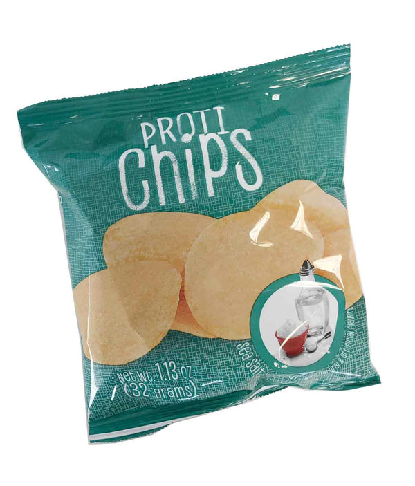 Sea Salt & Vinegar Proti Chips (6 Bags) - Alevo Nutrition