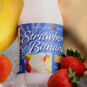 Protein Strawberry Banana Smoothie Shaker - 6/Pack - Alevo Nutrition