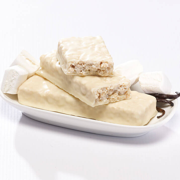 VLC Fluffy Vanilla Crisp Bar / Box - Alevo Nutrition
