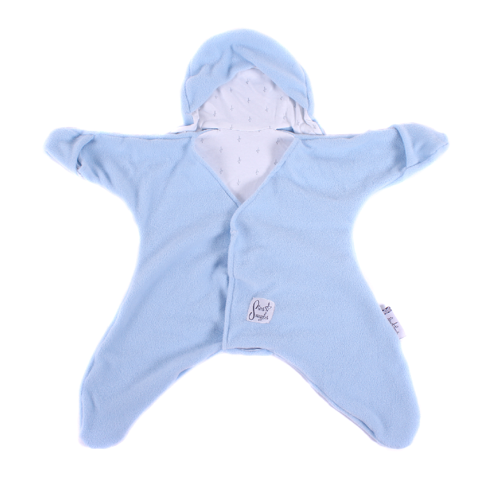 Blue Baby Star Wrap