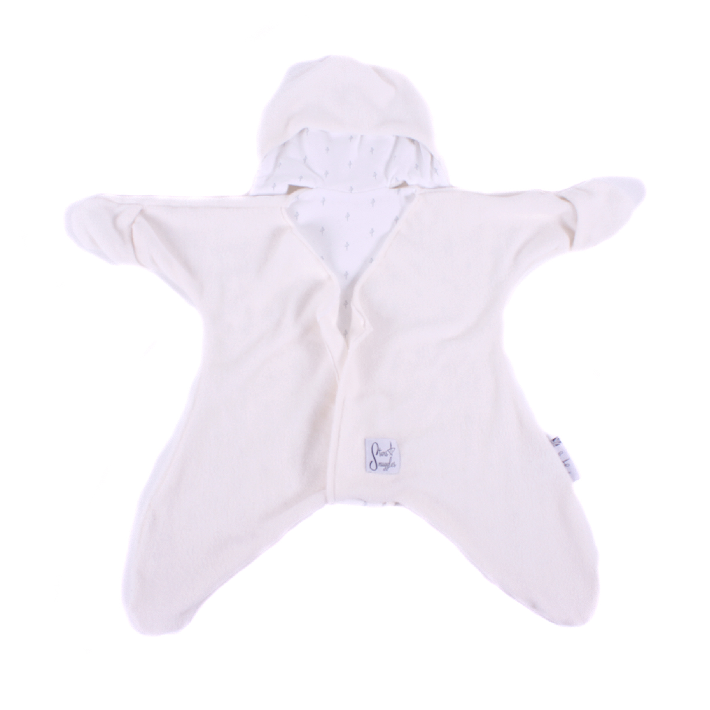 Cream Baby Star Wrap