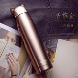 Cat Design Stainless Steel Thermos
